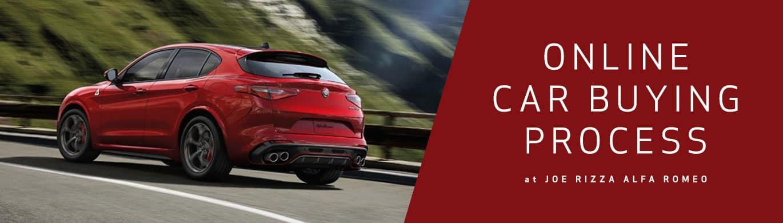 Online Car Buying Process at Joe Rizza Alfa Romeo