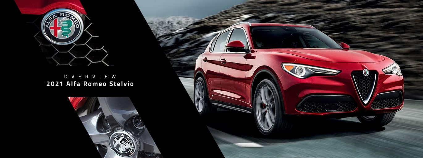 2021 Alfa Romeo Stelvio Overview at Joe Rizza Alfa Romeo
