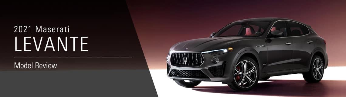 2020 Maserati Levante Model Overview – Joe Rizza Maserati in Orland Park