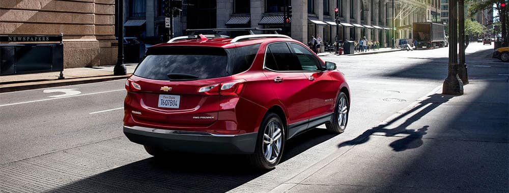 Chevy Equinox Parked on Curb