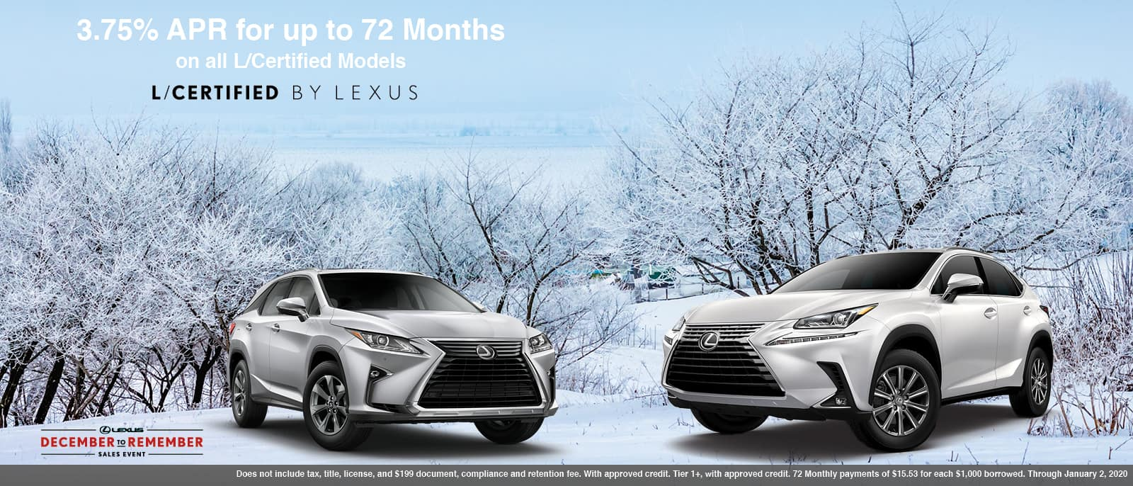 Certified Lexus Models
