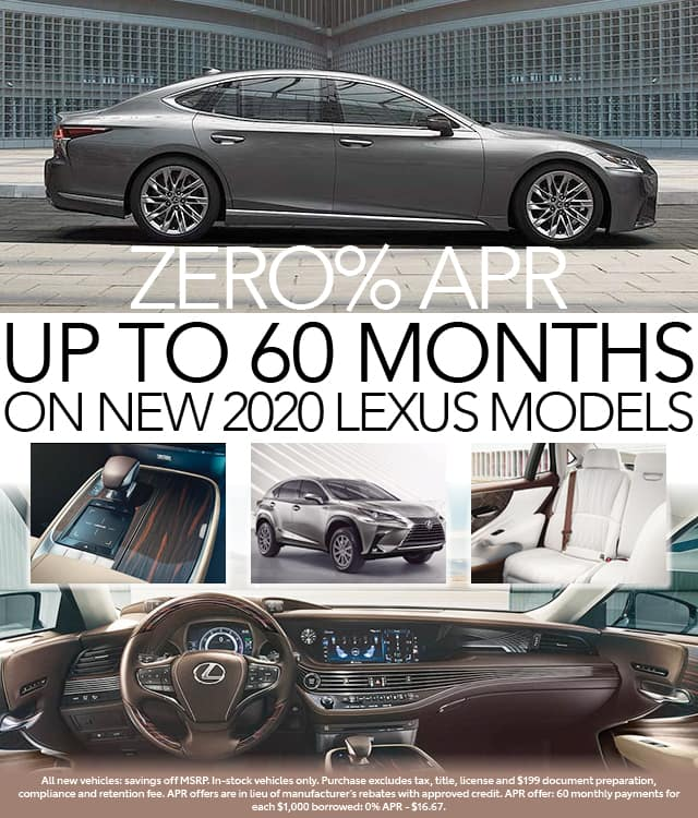 0 APR for up to 60 months