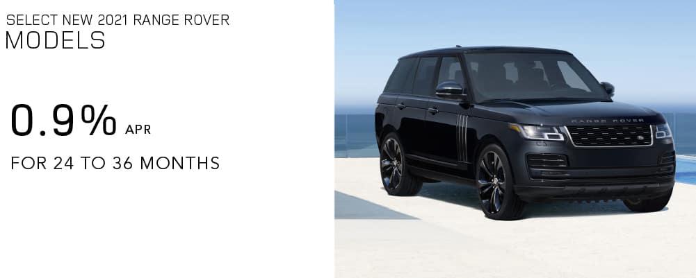 Select 2021 Range Rover Models