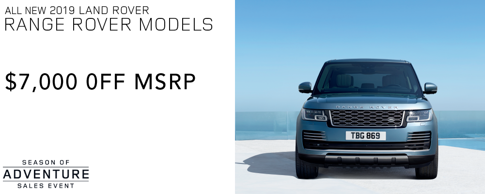 ALL NEW 2019 LAND ROVER RANGE ROVER MODELS
