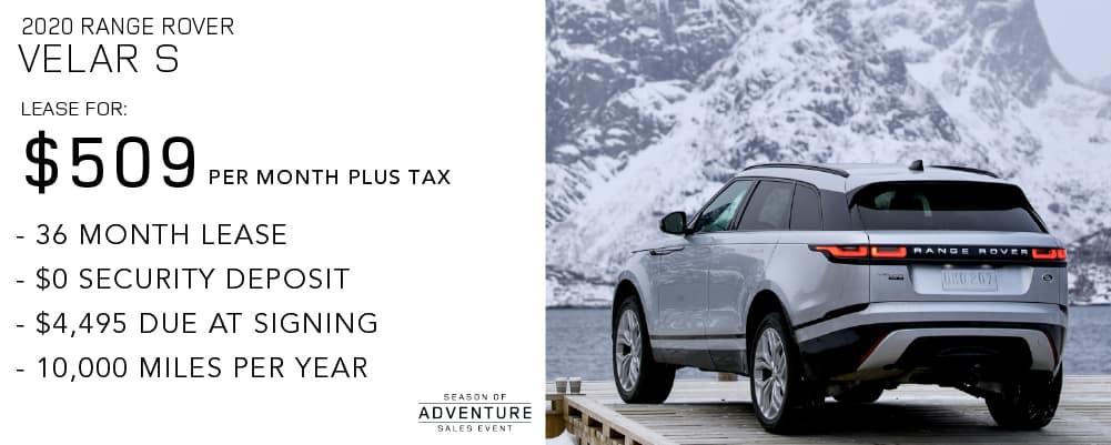 2020 Range Rover Velar S