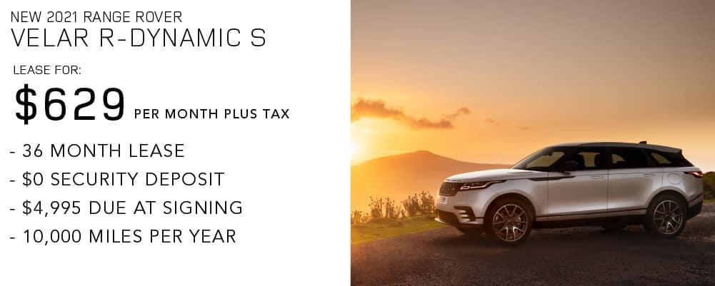 2021 Range Rover Velar R-Dynamic S