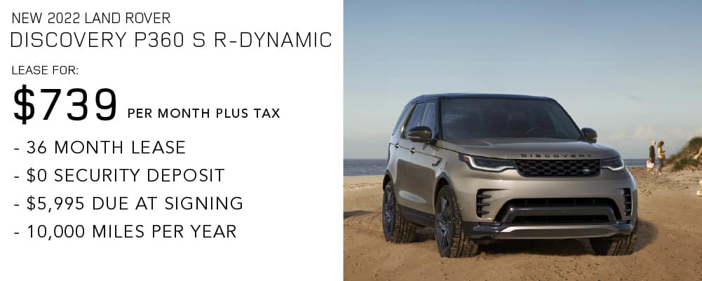 New 2022 Land Rover Discovery P360 S R-Dynamic