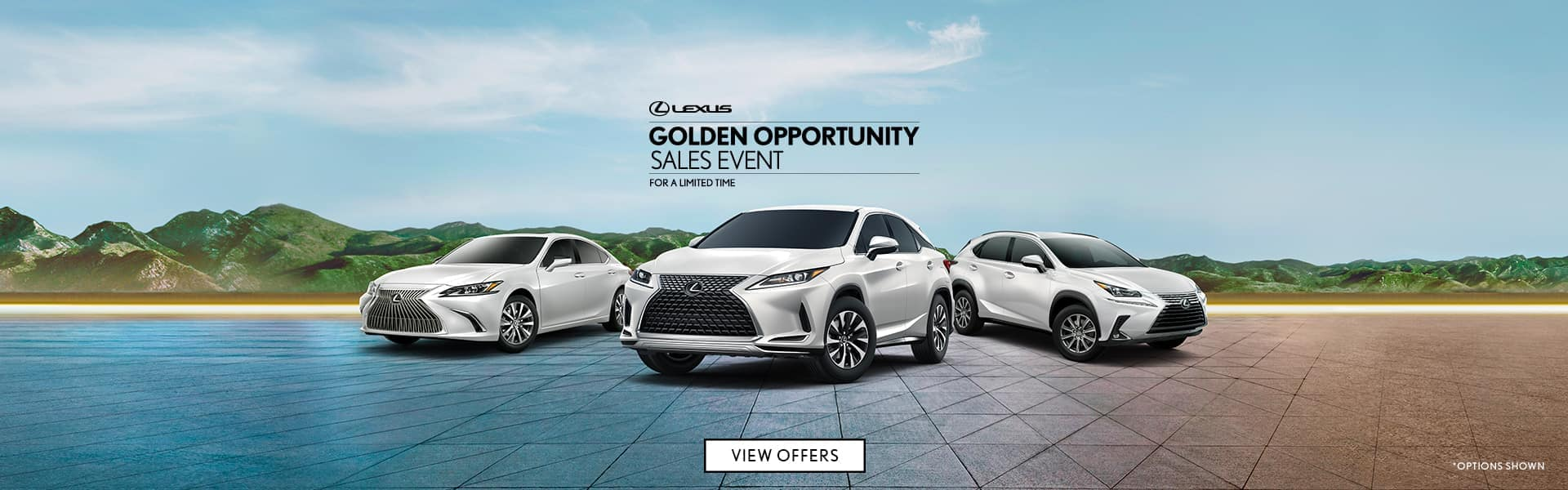 Golden Opportunity Sales Event Lexus Of Route 10