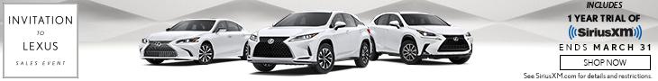Lexus March Sales Event