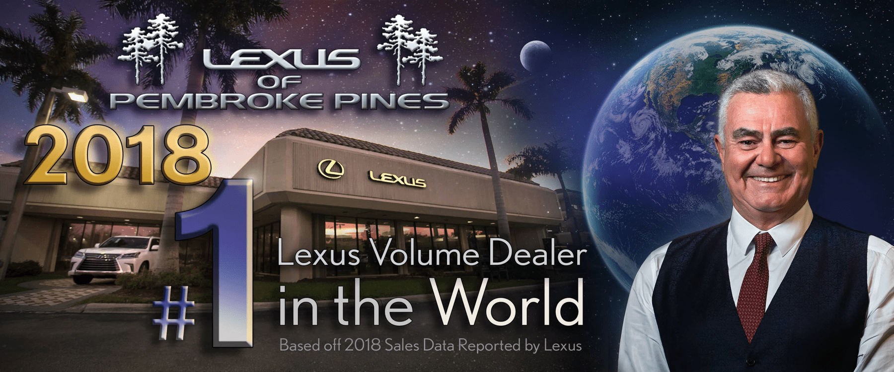 #1 Lexus Dealer in the World