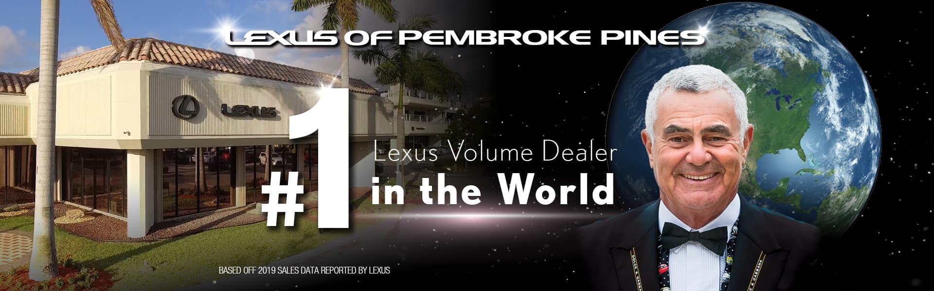 #1 Lexus Dealer in the World