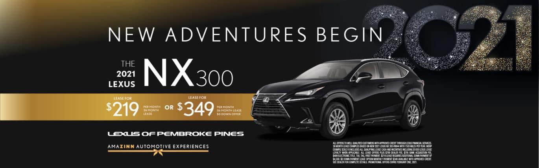 New 2021 Lexus NX 300