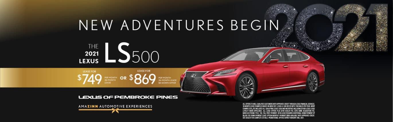New 2021 Lexus LS 500