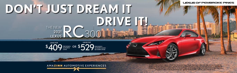 New 2021 Lexus RC 300