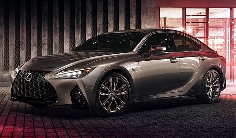 New Lexus IS