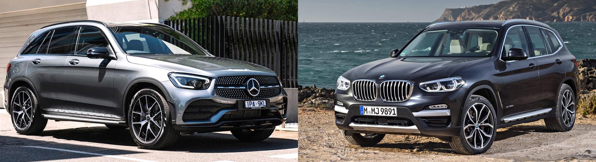 2020 GLC 300 goes head-to-head with the BMW X3