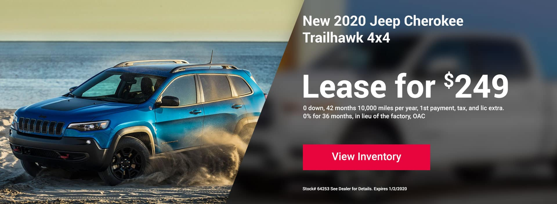 Cherokee Trailhawk Offer