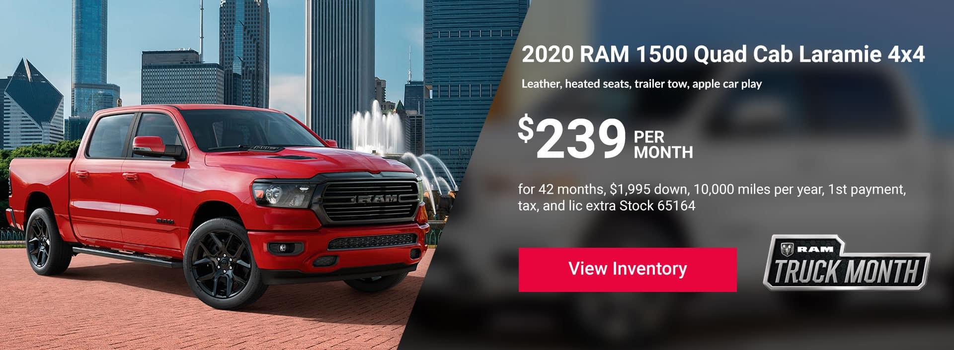 2020 RAM 1500 RAM Quad Cab Laramie