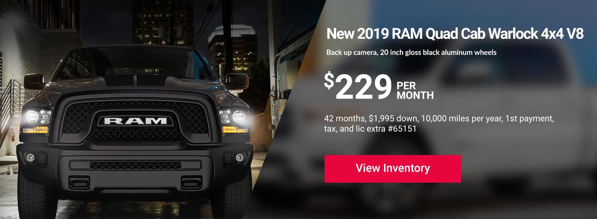Ram Quad Cab Warlock