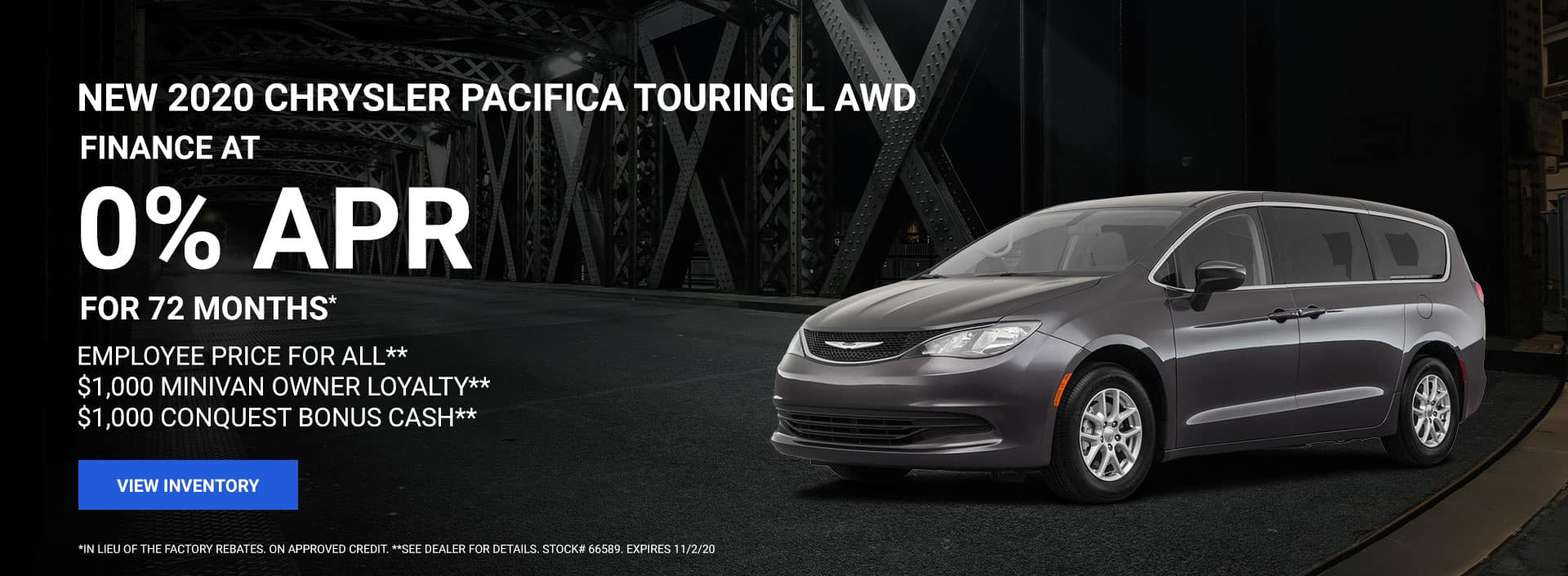 2020 Chrysler Pacifica Touring L AWD