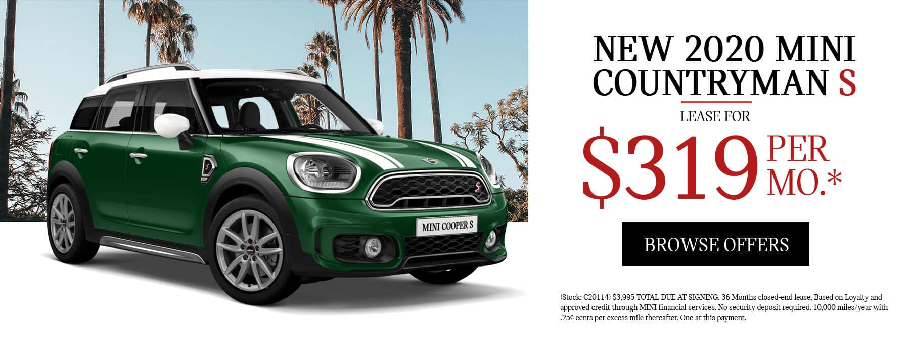 MINI Countryman Lease Special