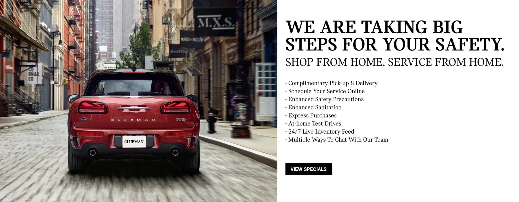 We are taking the step for your safety. Learn More