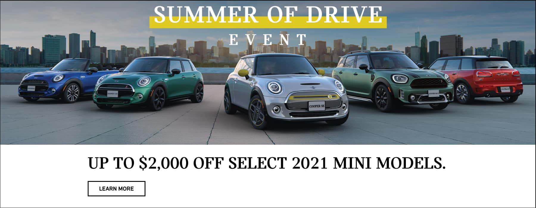 Up to $2,00 Off select 2021 models