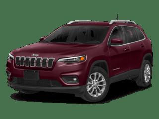 2019 jeep cherokee angled model