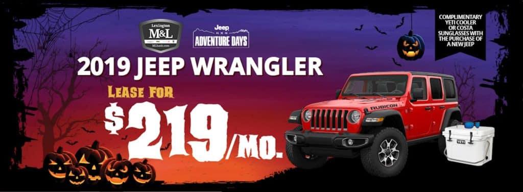 Jeep Wrangler Adventure Days near Winston Salem NC