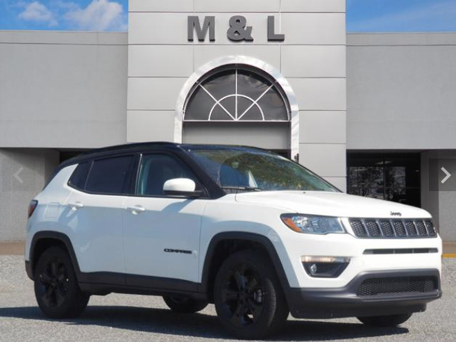 Test Drive the 2020 Jeep Compass in Lexington NC