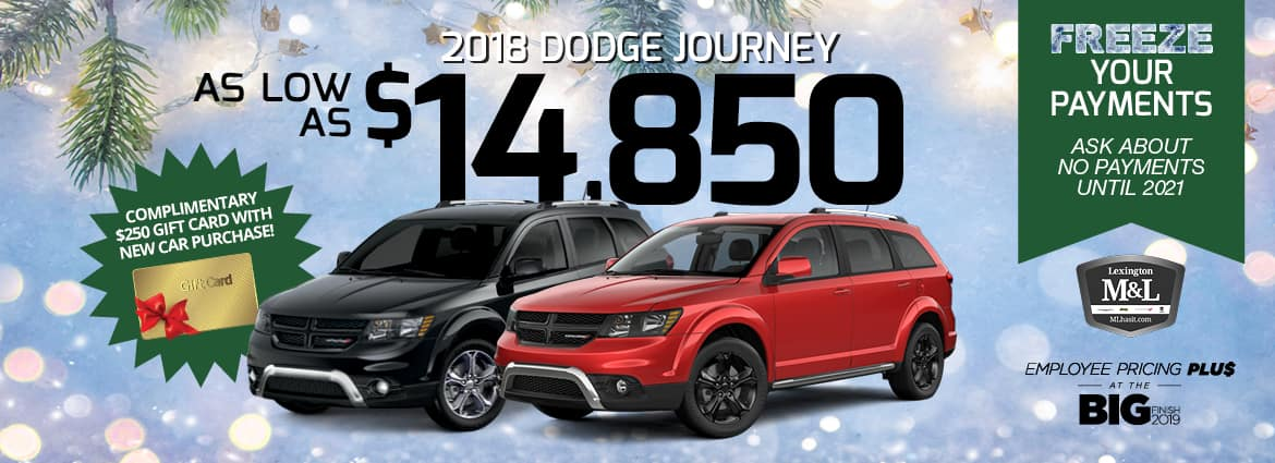 Dodge Employee Pricing Plus at the Big Finish 2019 near Mocksville NC