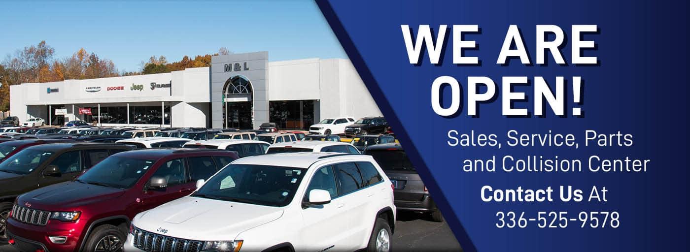 m l chrysler dodge jeep ram l lexington nc l new used dealer www mlchryslerdodgejeepramlexington com