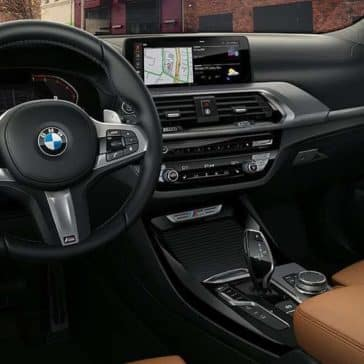 2020 BMW X3 Dash