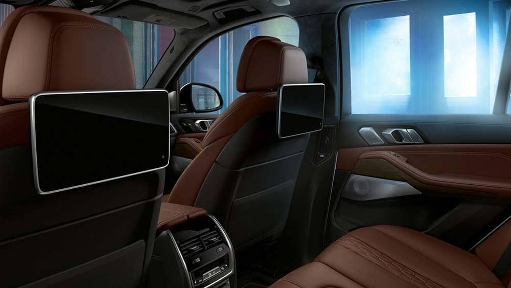 2020 BMW X5 Rear Entertainment
