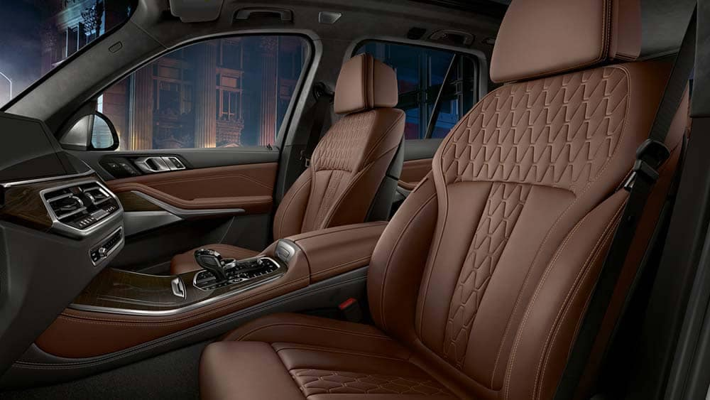 2020 BMW X5 Seating