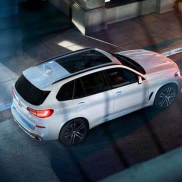 2020 BMW X5 Top View