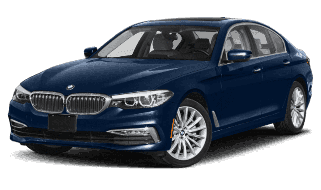 Blue 2020 BMW 5 Series
