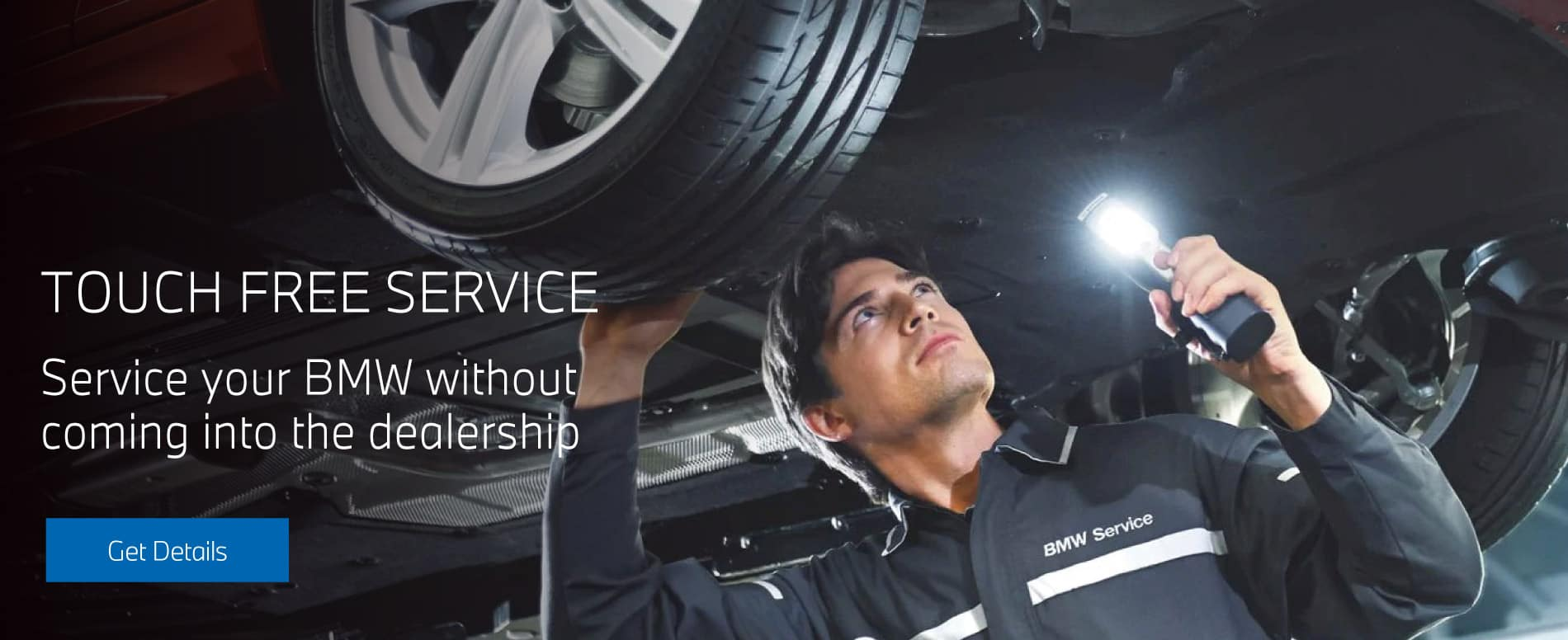 Touch Free Service Service Your BMW without coming into the dealership