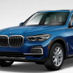 Bright Blue BMW X5