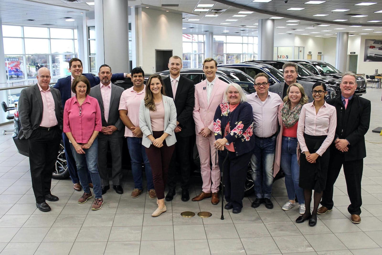 Think Pink With The Motorwerks BMW Team