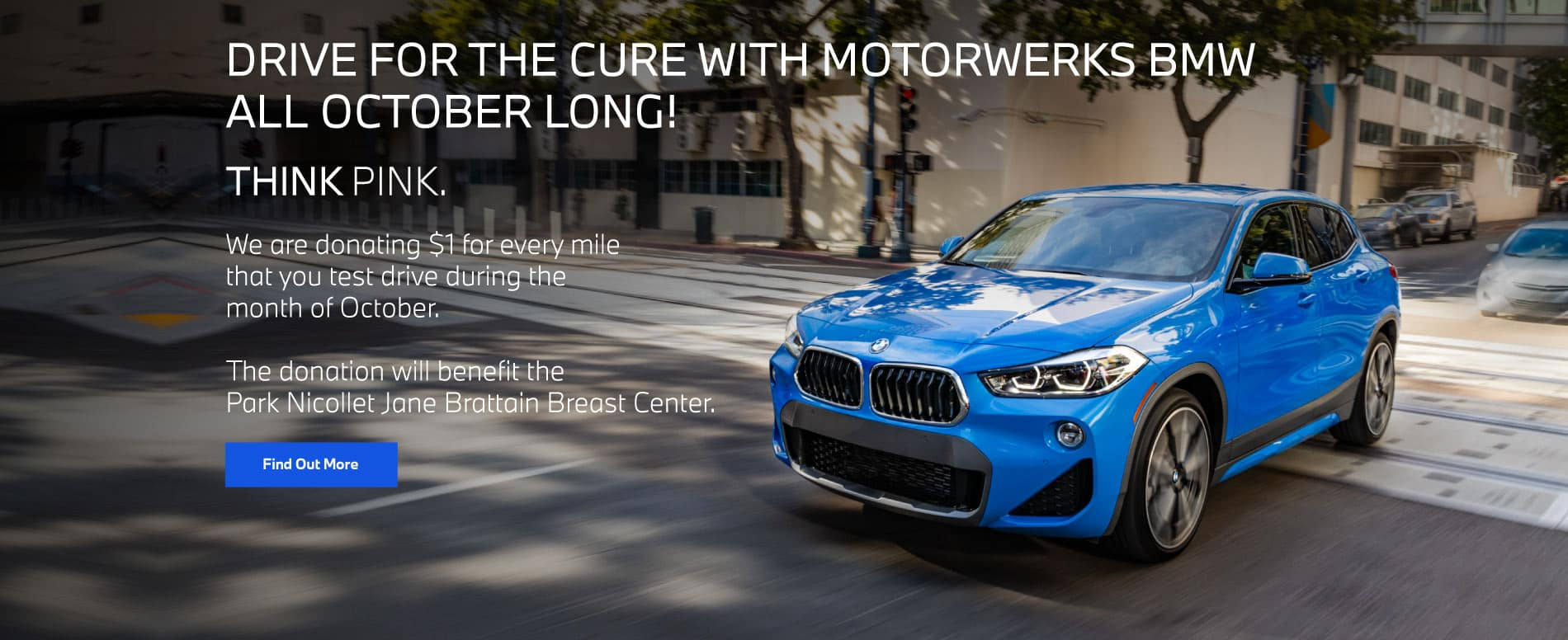 DRIVE FOR THE CURE WITH MOTORWERKS BMW ALL OCTOBER LONG! | Find out More