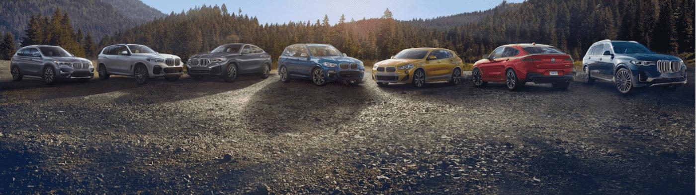 BMW SUV Lineup