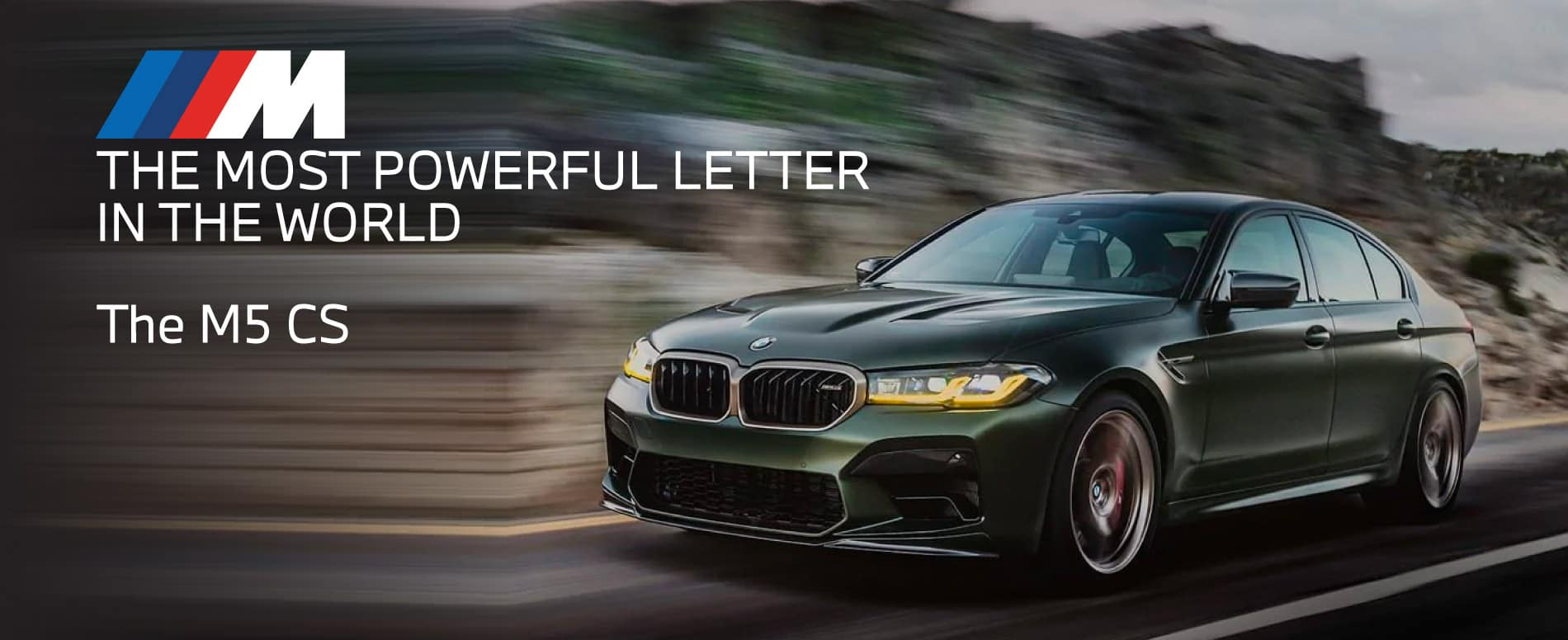 The Most Powerful Letter in the world. The M5 CS