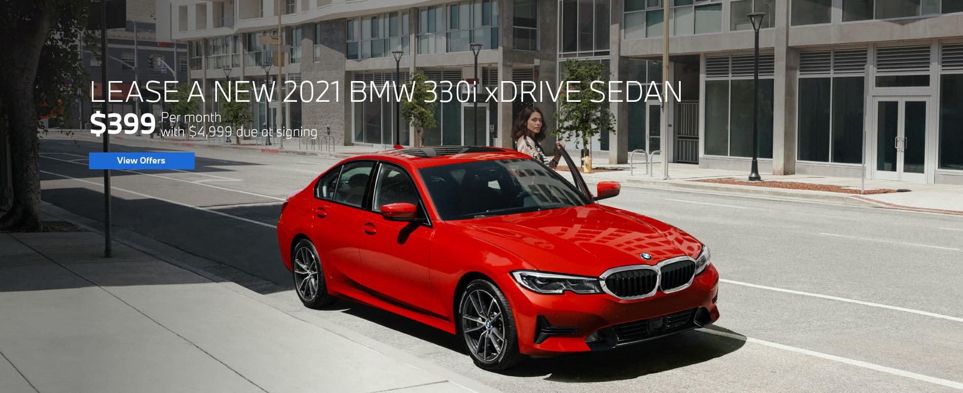 Lease a 2021 330i xDrive for $399 a month   View Offers