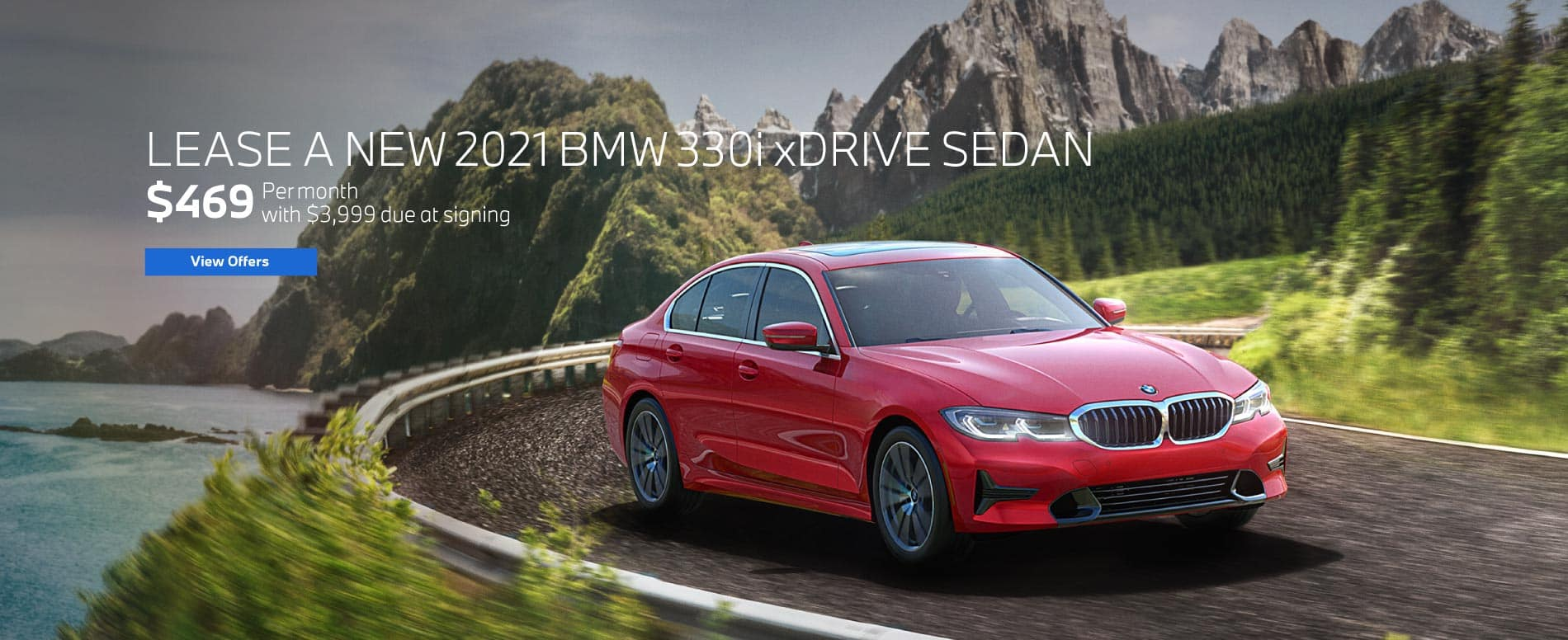 Lease a 2021 330i xDrive for $469 a month | View Offers
