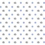 Lexus Snowflake Wrapping Paper