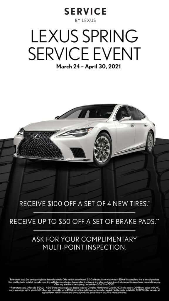 Lexus Spring Tire Event