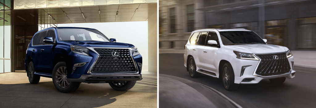 Lexus GX Sport Design and Lexus LX Sport Package
