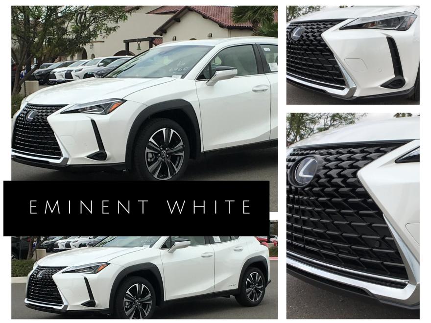 Eminent White Lexus UX