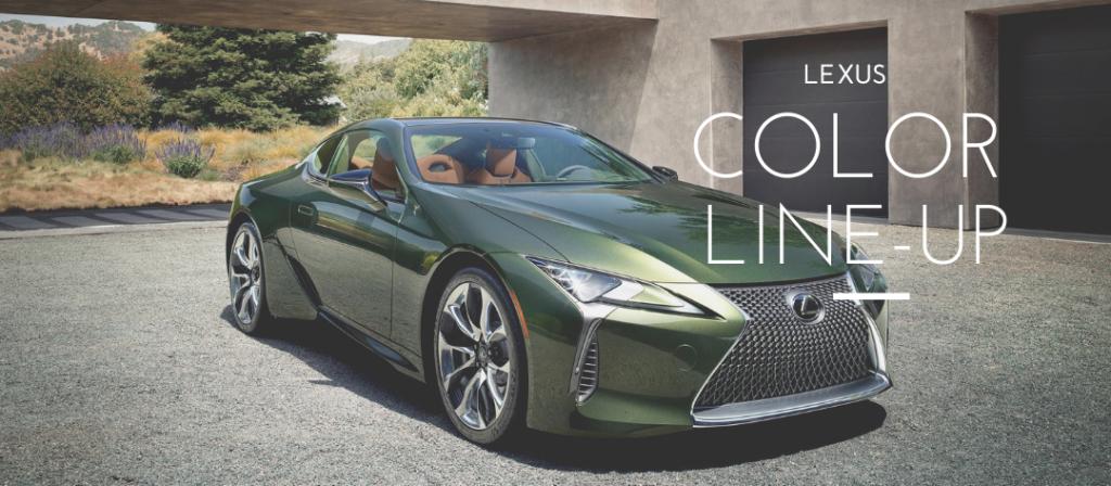 Lexus Colors for 2020